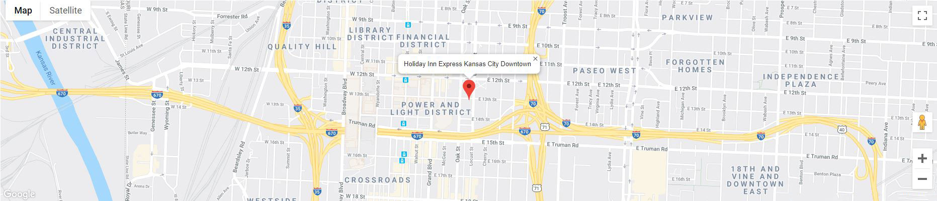 Downtown KC Hotels | Holiday Inn Express Kansas City Downtown